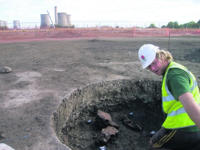 UK dig discovers 9,000-year-old remains